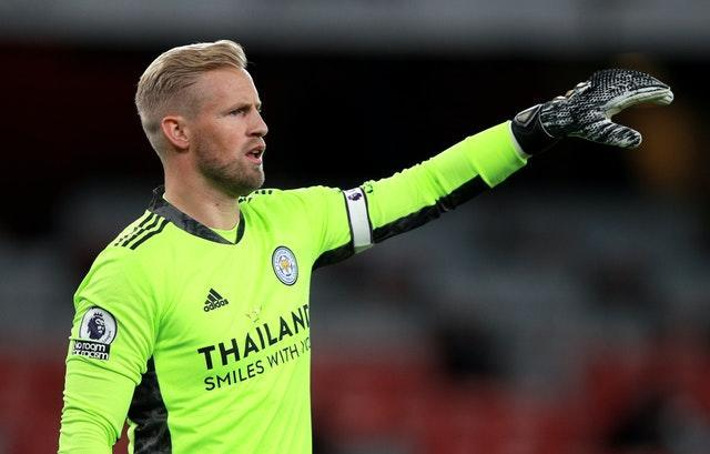 Leicester City goalkeeper Kasper Schmeichel is among those who may be ruled out