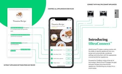Chefling's AI-driven kitchen assistant features include inventory organization, intuitive recipe suggestion, and shopping list management and ordering.