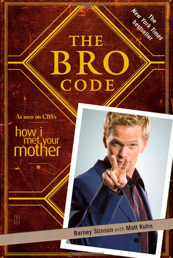"<p>The first, er, fourth rule of Bro Code is never talk about Bro Code. Barney has been working on <a href=""https://www.amazon.com/Bro-Code-Barney-Stinson/dp/143911000X"" rel=""nofollow noopener"" target=""_blank"" data-ylk=""slk:his ""living document"""" class=""link rapid-noclick-resp"">his ""living document""</a> for years, and it's swelled to 150 rules of how men should behave, interact with other men, and treat women. Parts of the code can get very detailed (like the circumstances under which a bro can cry), but in general, all follow the same formula of asking WWBSD? (What Would Barney Stinson Do?). (Photo: Amazon.com) </p>"