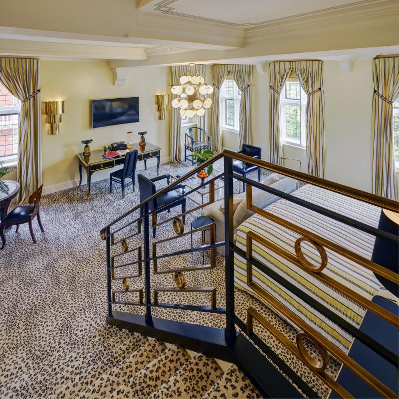 The entry to the Meghan Suite. Photo: Red Carnation Hotels