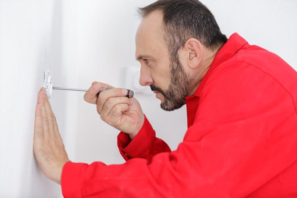 """If the wiring inside your walls is haphazardly placed, you can't afford to keep it that way. """"Any half-decent electrician will tell you that any wiring should fall vertically or horizontally in a straight line,"""" explains <strong>Lee Jackson</strong>, owner of <a href=""""http://www.leejacksonac.co.uk"""" rel=""""nofollow noopener"""" target=""""_blank"""" data-ylk=""""slk:Lee Jackson Air Conditioning"""" class=""""link rapid-noclick-resp"""">Lee Jackson Air Conditioning</a>. """"This is just best practice because if anyone else is doing work on your house, they won't electrocute themselves by drilling into a misplaced wire."""""""