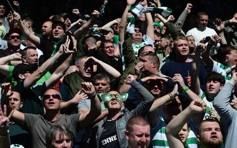 Lennon believes Celtic's younger fans have come to expect success every season - Credit: GETTY IMAGES