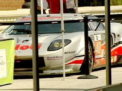 Today big name with the American Le Mans Series take over Main Street in downtown Greenville.
