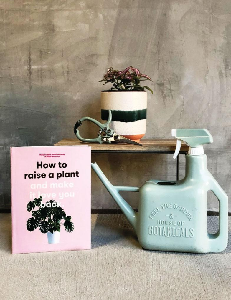 """<p>Gifting a houseplant to an untrained carer may end in disaster for the foliage. EcoVibe's 5-piece first-time plant parent kit includes a spray sprinkler watering can; your choice of one of 5 popular plants; a copy of <i>How to Raise a Plant (and Make It Love You Back)</i> by Erin Harding and Morgan Doane; either pruning sheers or a moisture meter; and either a 30-minute facetime consultation with a plant care specialist or a pass to one their in-person workshops in Portland, OR. </p> <p><strong>Buy It!</strong> $60; <a href=""""https://ecovibestyle.com/collections/house-warming-packages/products/thenewplantparentpackage"""" rel=""""nofollow noopener"""" target=""""_blank"""" data-ylk=""""slk:ecovibestyle.com"""" class=""""link rapid-noclick-resp"""">ecovibestyle.com</a> </p>"""