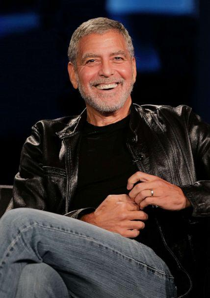 PHOTO: George Clooney is a guest at 'Jimmy Kimmel LIVE!' on Dec. 2, 2020. (Randy Holmes/ABC)