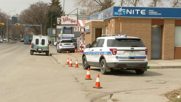 Police say they'll release more information as it becomes available.  (Rob Kruk/CBC - image credit)
