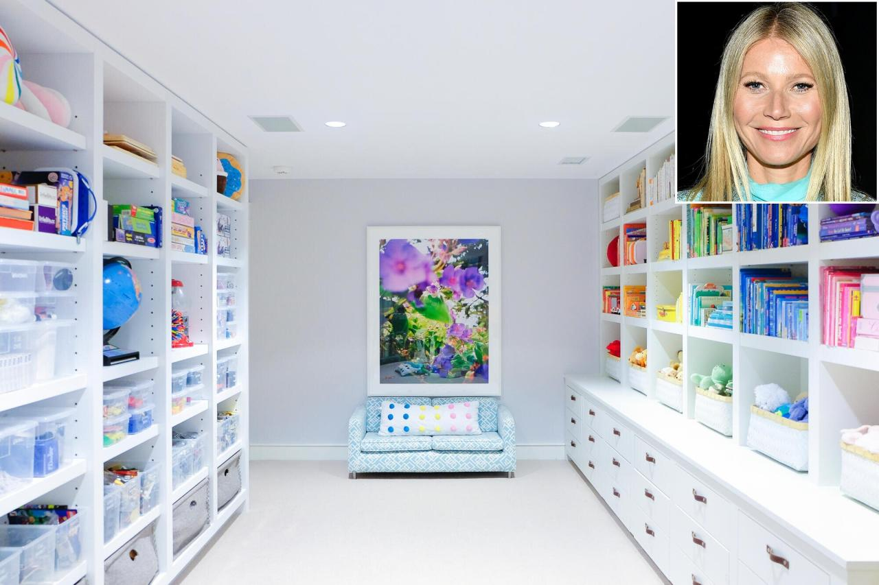 "<strong>Make It Easier for Kids to Clean Up</strong>  Encourage good habits by organizing kids' spaces in a way that's easy to understand and keep up with. ""Arranging books in rainbow order serves as a simple instruction for putting things back where you found them. Plus it makes a room look fabulous and polished,"" says <a href=""https://www.instagram.com/cleashearer/"">Clea Shearer</a>, who designed Gwyneth Paltrow's kid cave — which is outfitted with closed storage cabinets for those days when the system breaks down."
