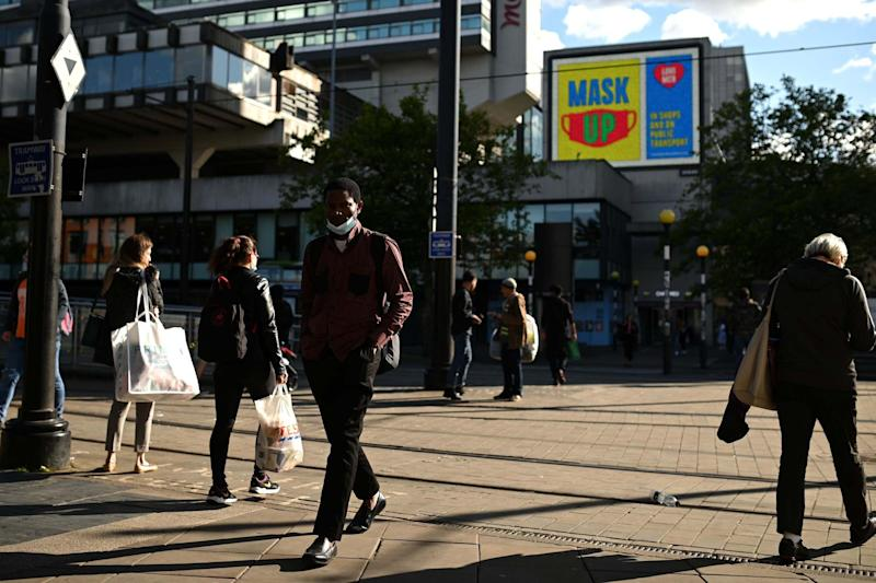 Areas in the North of England will face new restrictions from midnight: AFP via Getty Images