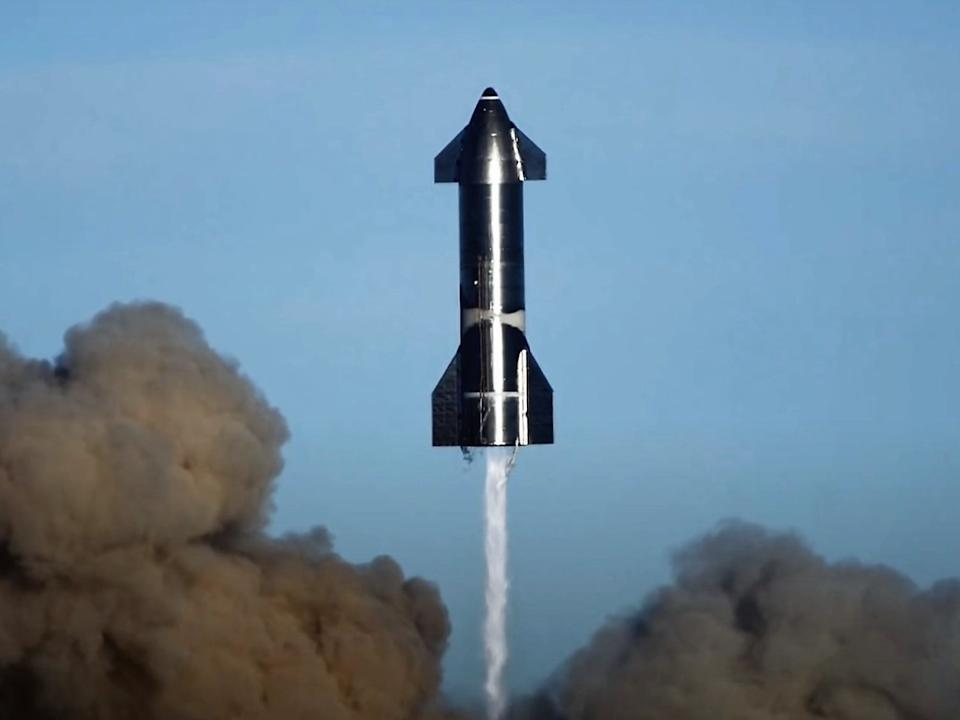<p>Cohete spacex lanza 2021</p> (Spacex)