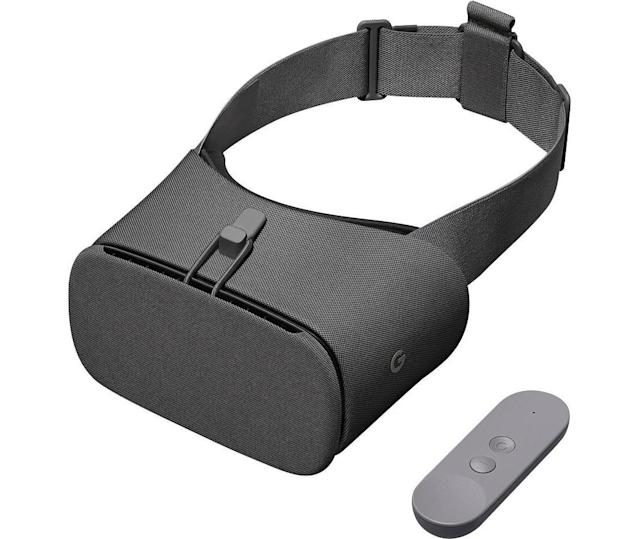 Google's Daydream View is one of the least expensive ways to get into virtual reality.