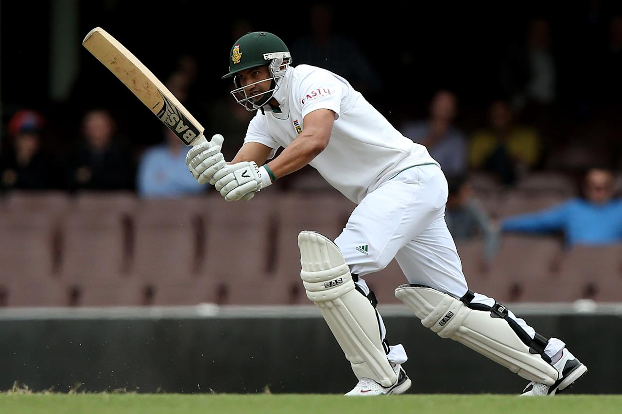 SYDNEY, AUSTRALIA - NOVEMBER 03:  Alviro Petersen of South Africa bats during day two of the International TOur Match between Australia A and South Africa at Sydney Cricket Ground on November 3, 2012 in Sydney, Australia.  (Photo by Chris Hyde/Getty Images)