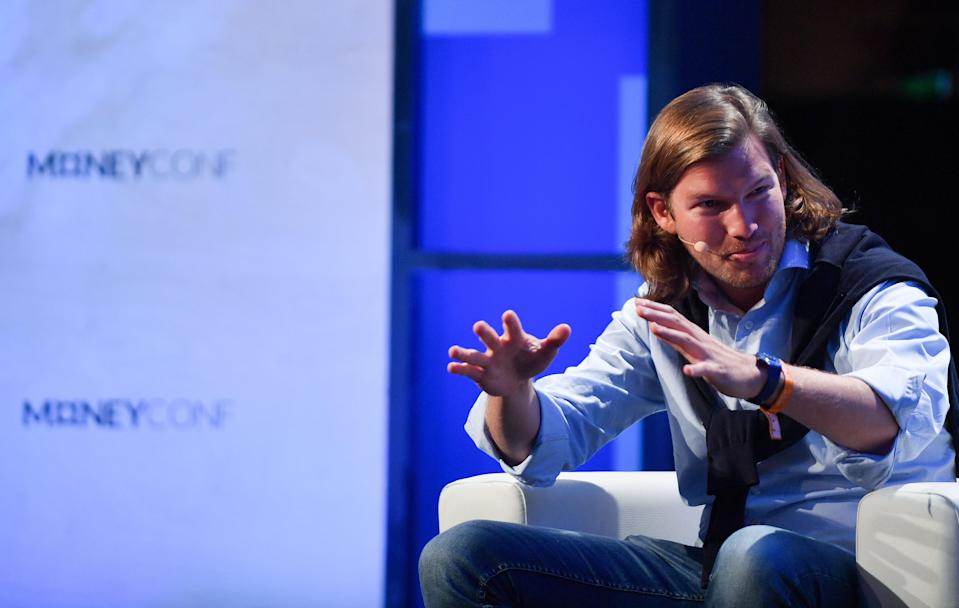 Valentin Stalf, founder and chief executive of N26. Photo: Eóin Noonan/Sportsfile via Getty