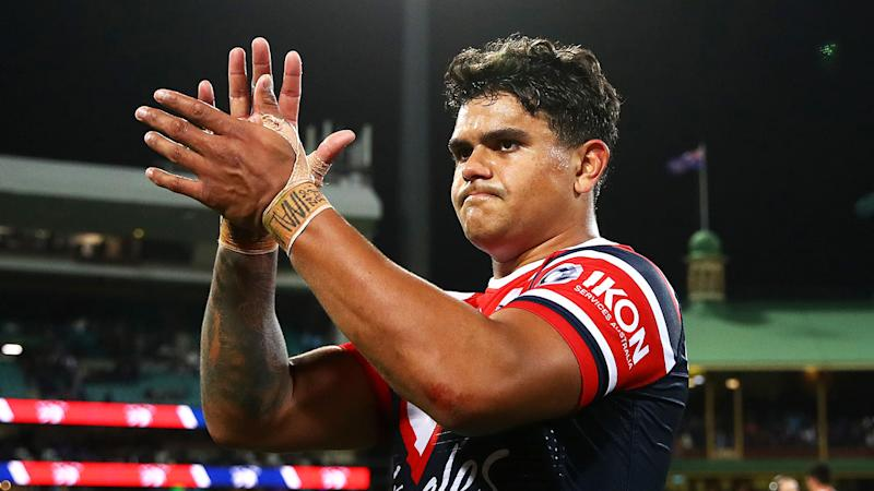 Latrell Mitchell has reportedly signed for the South Sydney Rabbitohs. (Getty Images)