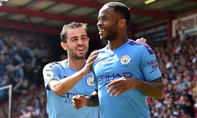 """<span class=""""element-image__caption"""">Raheem Sterling will be looking to make an impact on the Champions League.</span> <span class=""""element-image__credit"""">Photograph: Glyn Kirk/AFP/Getty Images</span>"""