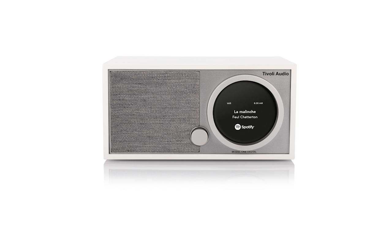 "<p>Model One Digital FM/Wi-Fi/Bluetooth Radio, $299, <a rel=""nofollow"" href=""https://www.amazon.com/dp/B06XKNPRTR"">amazon.com</a> </p>"