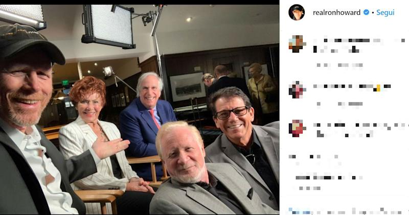 "Ron Howard, reunion con alcuni amici di ""Happy Days"""