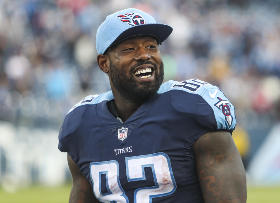 Delanie Walker offered his support and Titans tickets to a bullied Tennessee boy. (AP)