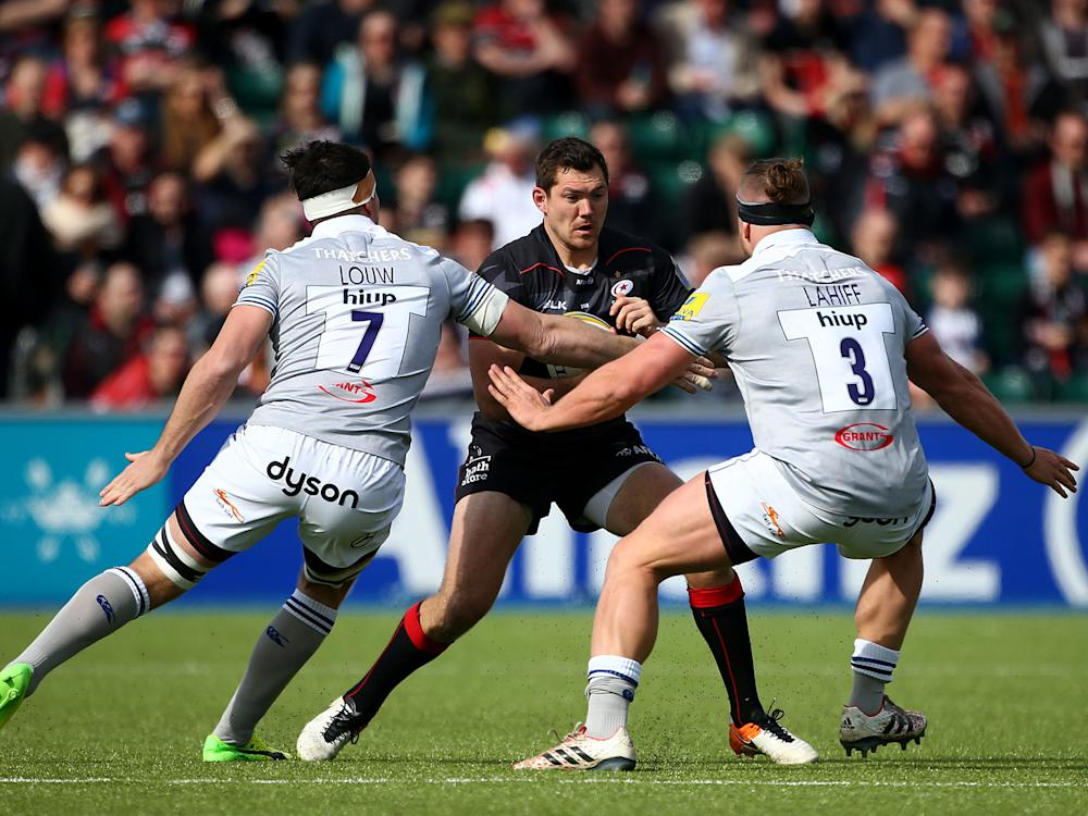 A|ex Goode returned from more than two months out with injury in the 53-10 rout of Bath: Getty