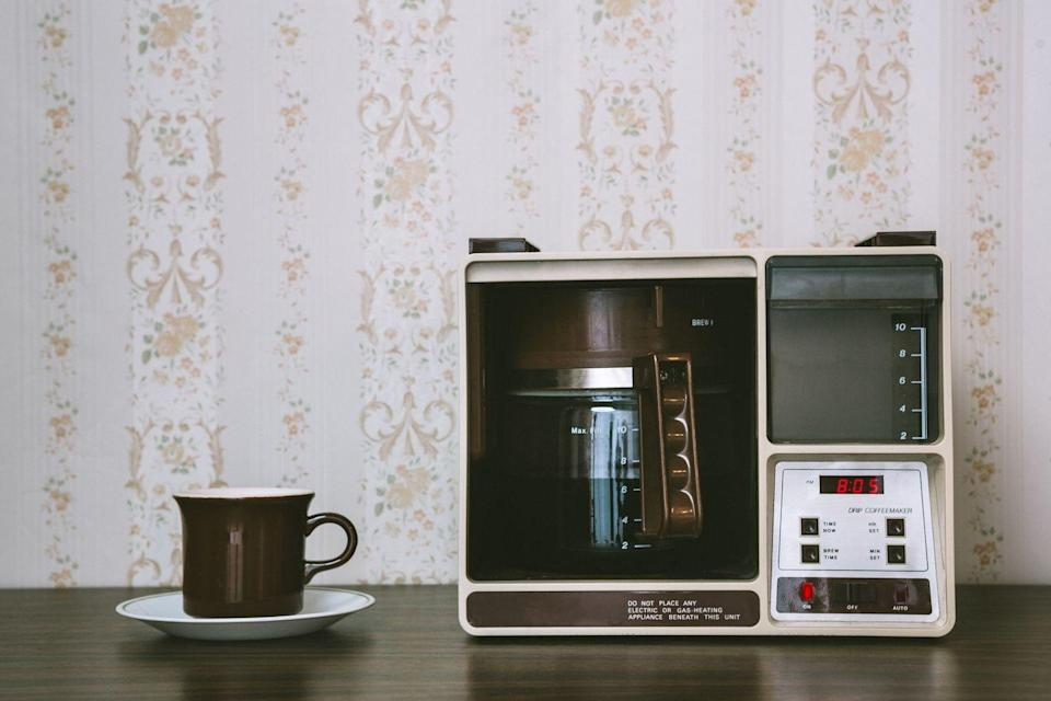 <p>In this era of Keurigs, can anyone really believe people used behemoths like this to make coffee in the 70s?</p>