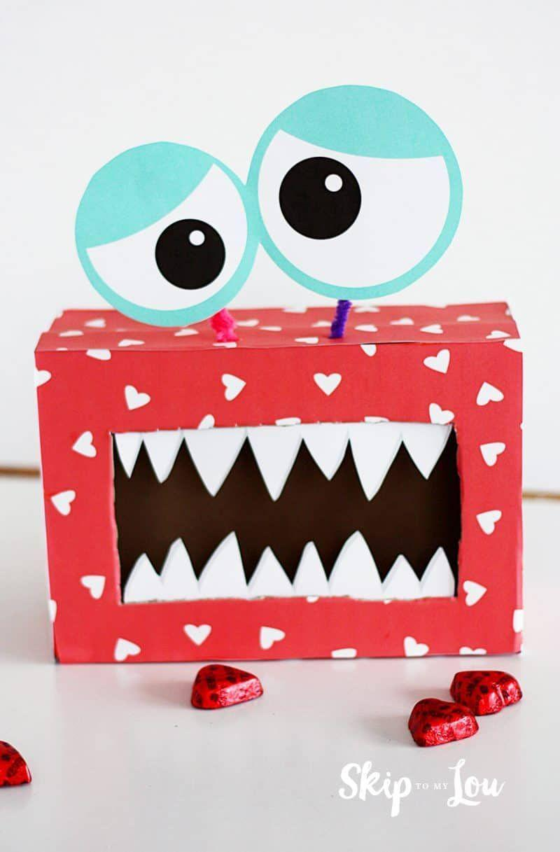 "<p>The instructions for this monster box include all printable items to decorate an old shoe box or tissue box.</p><p><strong>Get the tutorial at <a href=""https://www.skiptomylou.org/monster-valentine-box/"" rel=""nofollow noopener"" target=""_blank"" data-ylk=""slk:Skip to My Lou"" class=""link rapid-noclick-resp"">Skip to My Lou</a>.</strong></p><p><strong><a class=""link rapid-noclick-resp"" href=""https://www.amazon.com/Mod-Podge-Waterbase-8-Ounce-CS11236/dp/B000YQKLO0/?tag=syn-yahoo-20&ascsubtag=%5Bartid%7C10050.g.25844424%5Bsrc%7Cyahoo-us"" rel=""nofollow noopener"" target=""_blank"" data-ylk=""slk:SHOP MODGE PODGE"">SHOP MODGE PODGE</a><br></strong></p>"