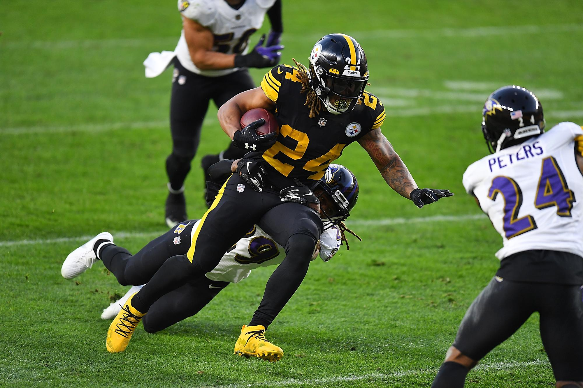A thrice-rescheduled, Wednesday afternoon Raven-Steelers game somehow did fine in the ratings