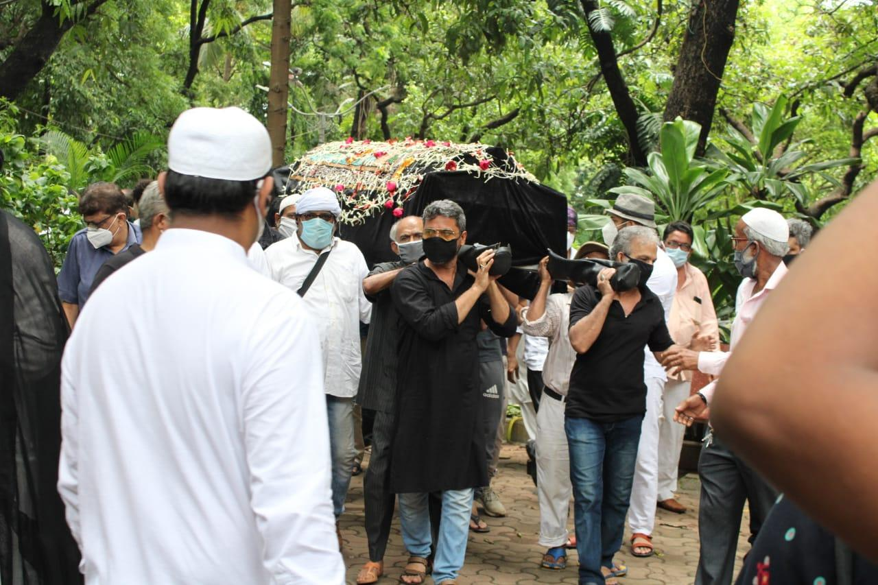 Last rites of veteran actor Jagdeep