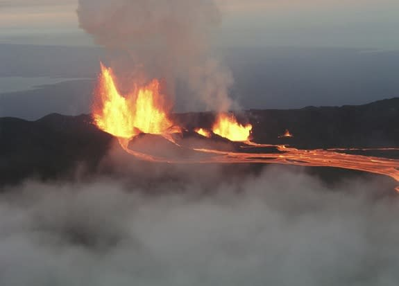 Sierra Negra is one of the most active volcanoes in the Galapagos and the most voluminous.
