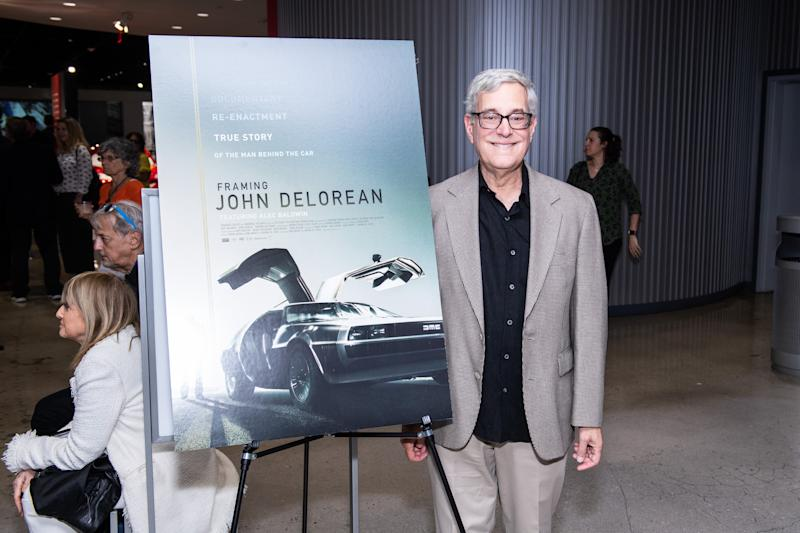 "LOS ANGELES, CALIFORNIA - JUNE 10: Bob Gale attends the LA special screening of Sundance Selects' ""Framing John Delorean"" at Petersen Automotive Museum on June 10, 2019 in Los Angeles, California. (Photo by Timothy Norris/Getty Images)"
