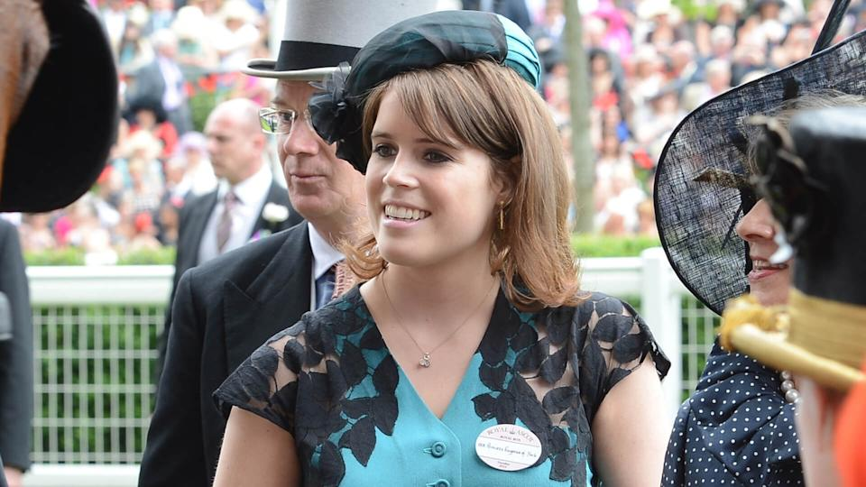 Princess Eugenie of York attends day 1 of the annual Royal Ascot horse racing event.