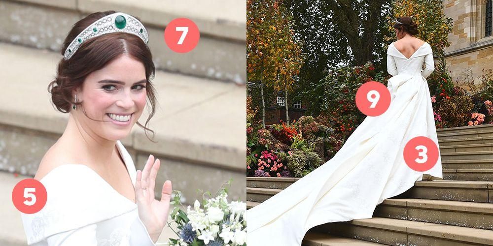 Cheap Wedding Gowns Toronto: 12 Things You Missed About Princess Eugenie's Wedding Dresses