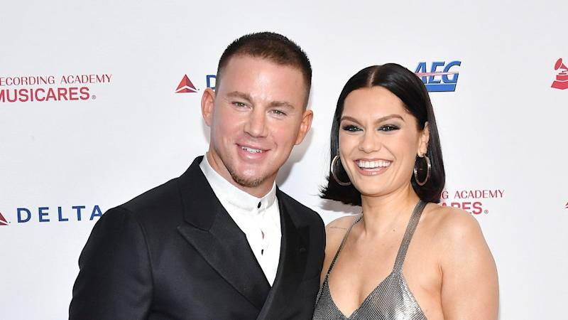 Channing Tatum and Jessie J Make Red Carpet Debut as Couple Since Getting Back Together