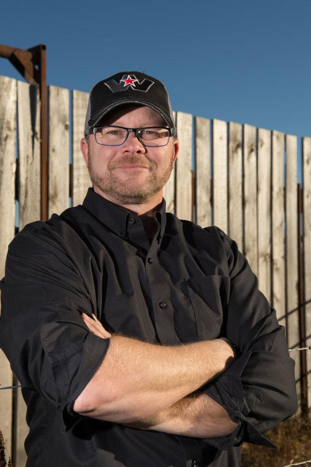 Saskatchewan farmer and auctioneer Jason LeBlanc's birthday gift for his dad turned into a year-long look at life on the family farm.