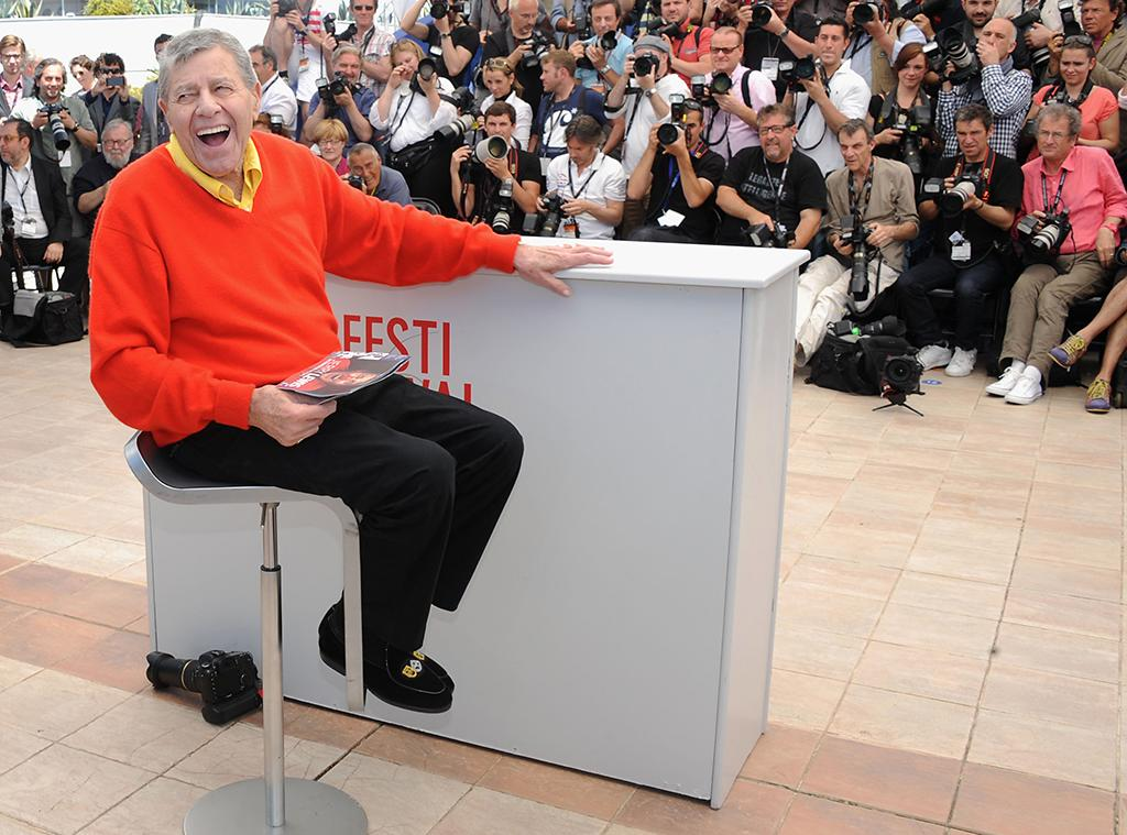 CANNES, FRANCE - MAY 23:  Jerry Lewis  attends the 'Max Rose' photocall during The 66th Annual Cannes Film Festival at the Palais des Festivals on May 23, 2013 in Cannes, France.  (Photo by Stuart C. Wilson/Getty Images)