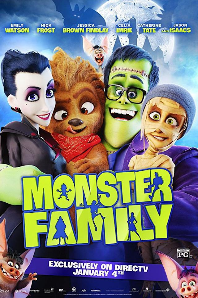 "<p><a rel=""nofollow"" href=""https://www.netflix.com/title/80194610"">STREAM NOW</a></p><p>When an evil witch turns a family dressed up as monsters for Halloween into real, living monsters, things get a bit complicated.</p>"