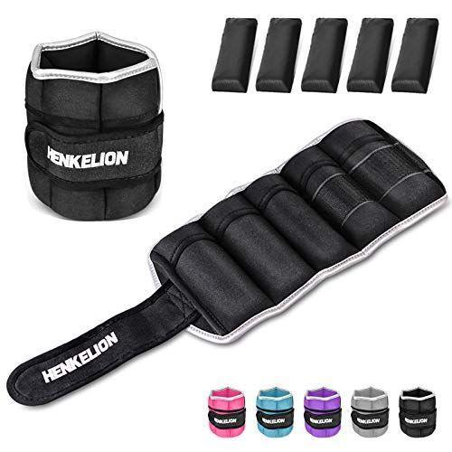 """<p><strong>Henkelion</strong></p><p>amazon.com</p><p><strong>$20.99</strong></p><p><a href=""""https://www.amazon.com/dp/B07H7FNL5V?tag=syn-yahoo-20&ascsubtag=%5Bartid%7C10056.g.36801416%5Bsrc%7Cyahoo-us"""" rel=""""nofollow noopener"""" target=""""_blank"""" data-ylk=""""slk:Shop Now"""" class=""""link rapid-noclick-resp"""">Shop Now</a></p><p>Ankle weights are a fun, seamless way to up the intensity on any at-home workout. Or, throw them on your ankles when you're out on a walk with your friends or running errands throughout the week. </p><p>These are all on sale for a range depending on the weight you choose, and are guaranteed to become an essential part of your workout routine.</p>"""