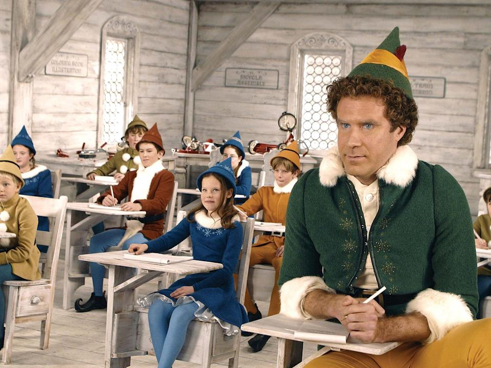 Will Ferrell in the Christmas classic Elf (Rex)