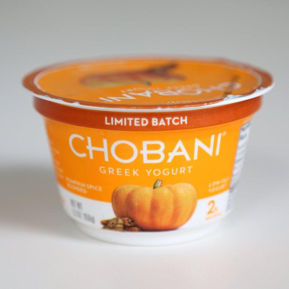 Would you start your morning with a little pumpkin-spiced yogurt?