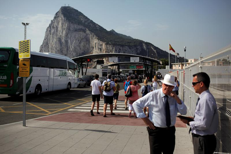 Spain diplomat, Brexit official talk Gibraltar