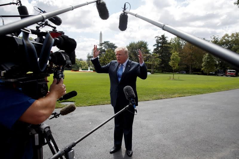 <p>Trump, GOP tax plan would cut rates for many Americans </p>