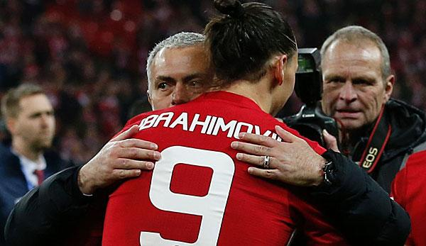 Premier League: Mourinho deutet Ibrahimovic-Verbleib an