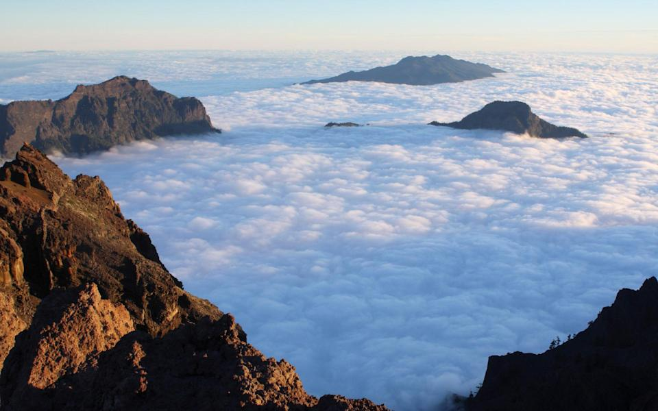 Going above the clouds is one way to avoid the crowds - Getty