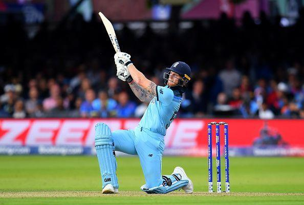 Ben Stokes was named the Man of the Final for his scintillating knock