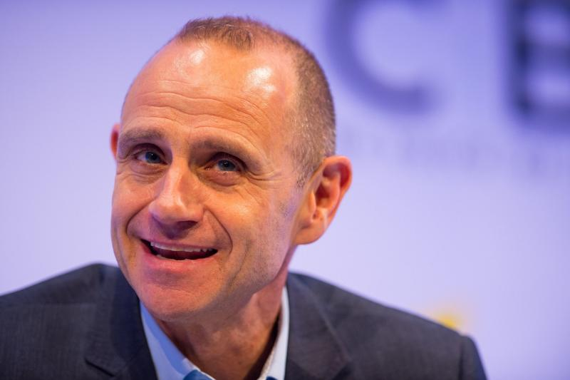Evan Davis is the new presenter of Radio 4's PM programme, taking over from recently-departed host Eddie Mair: Dominic Lipinski/PA Wire