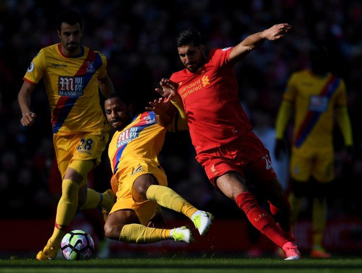 Jason Puncheon was Crystal Palace's warrior on Sunday