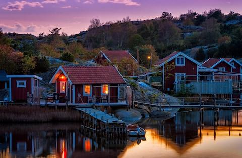 Sweden's archipelagos are charming and plentiful - Credit: istock