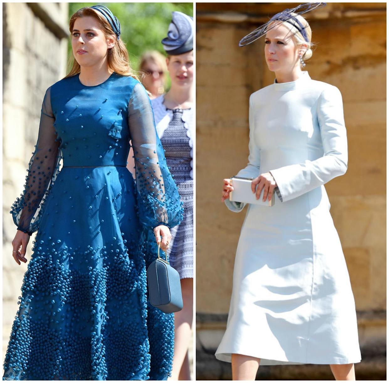 Harry and Meghan may also choose Harry's cousin, Princess Beatrice or fashion designer <span>Misha Nonoo.</span> [Source: Getty]
