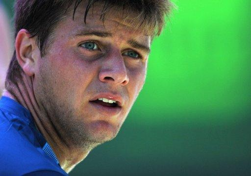 Ryan Harrison on Monday battled for two hours and 48 minutes before escaping Belgian Ruben Bemelmans