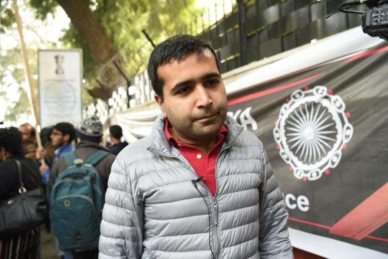 Kersi, a 32-year-old Parsi who works in the tech sector joined the march in New Delhiagainst India's new citizenship law