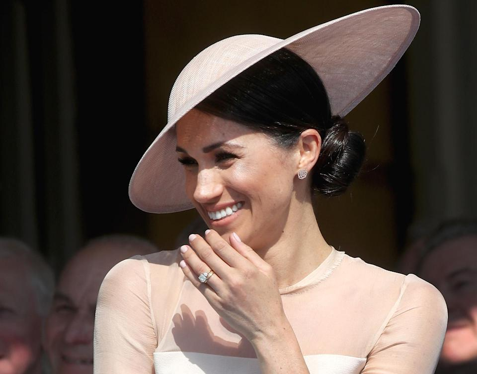 Meghan Markle is receiving training on how to be an effective royal. (Photo: Getty Images)