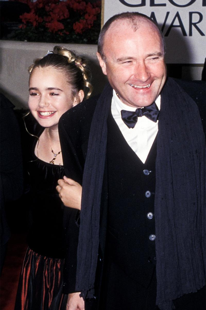Lily Collins Forgives Her Father Phil Collins in an Open